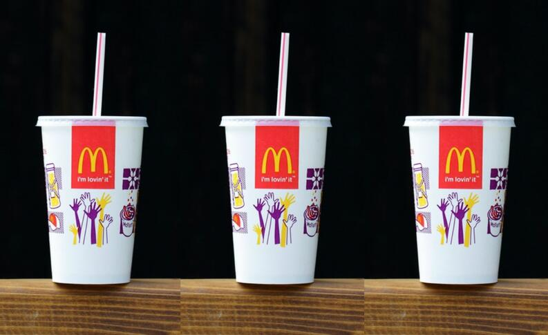 your mcdonalds drink lid does more than just prevent spillage 1