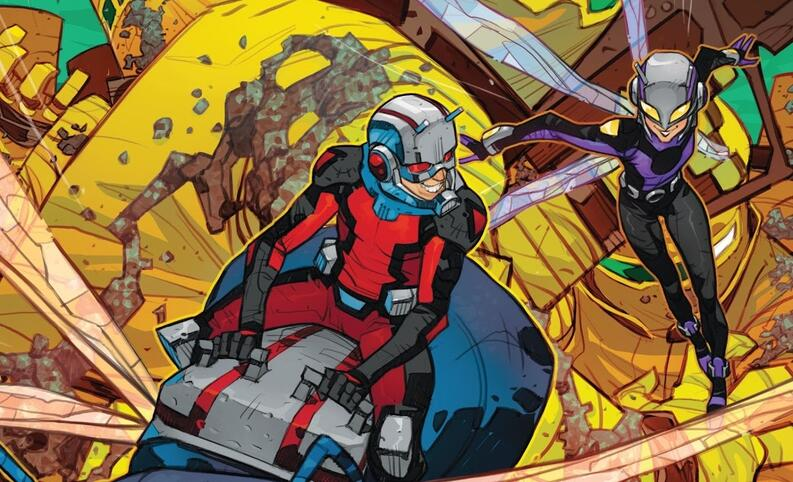 ant man and the wasp marvel comics