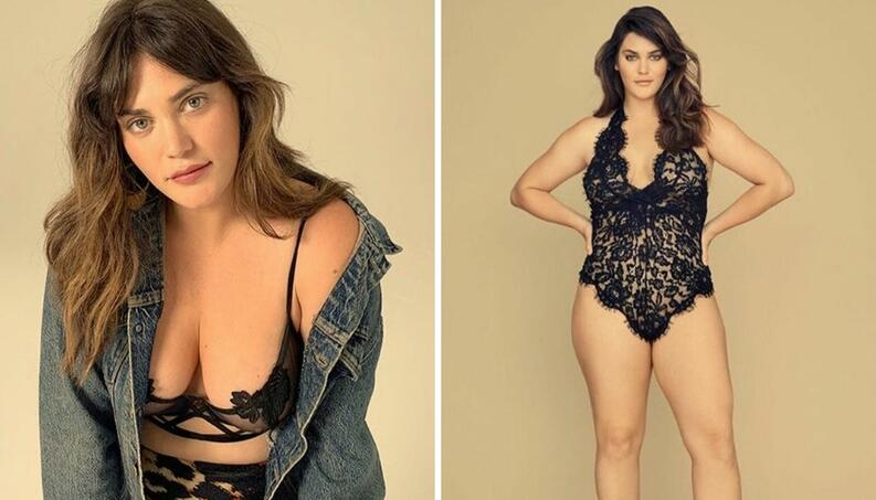 ali tate modelo plus size victorias secret collage instagram 0