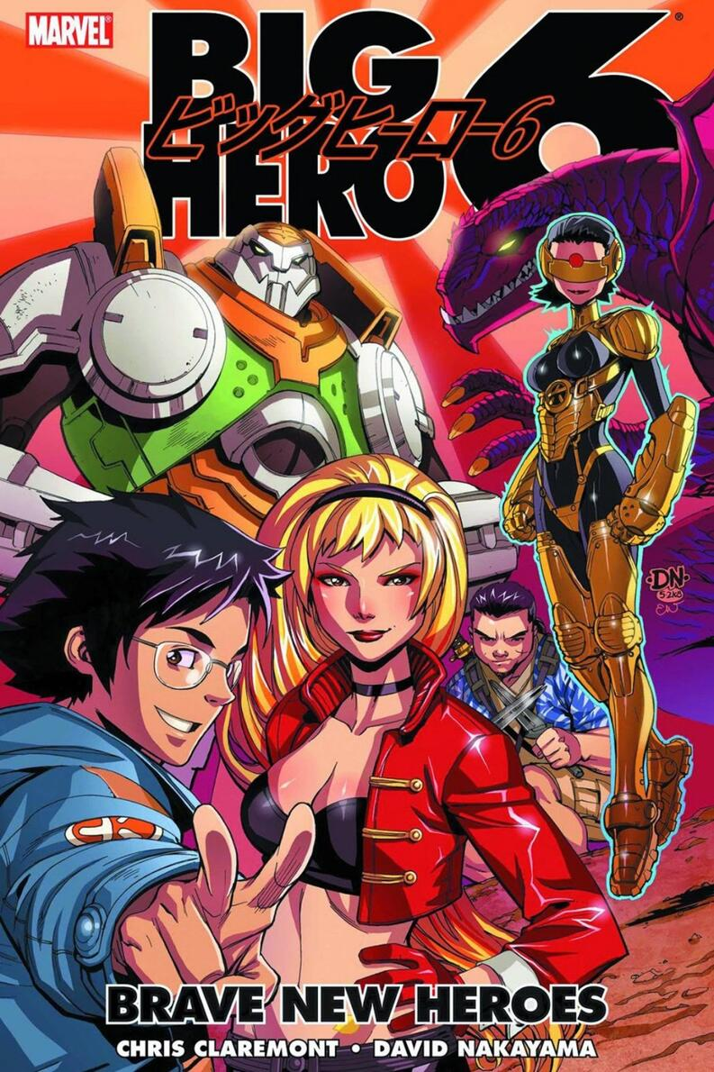 big hero 6 marvel comics