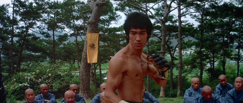 bruce lee pelicula enter the dragon
