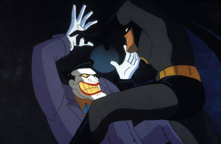 batman la serie animada joker vs batman