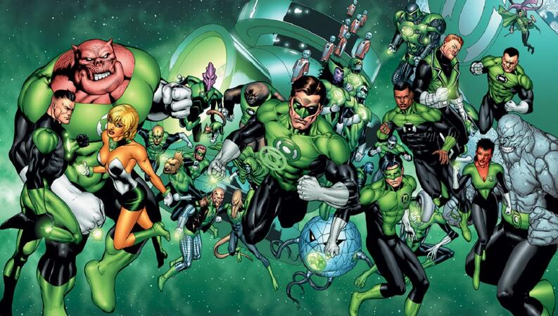 20 Green Lanterns emblematicos 1