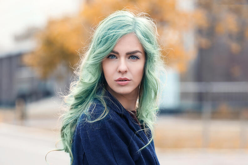 cabello color menta tintes fantasia 1911201931