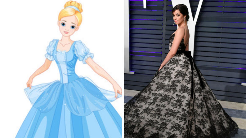 camila cabello  cinderella  dress 0