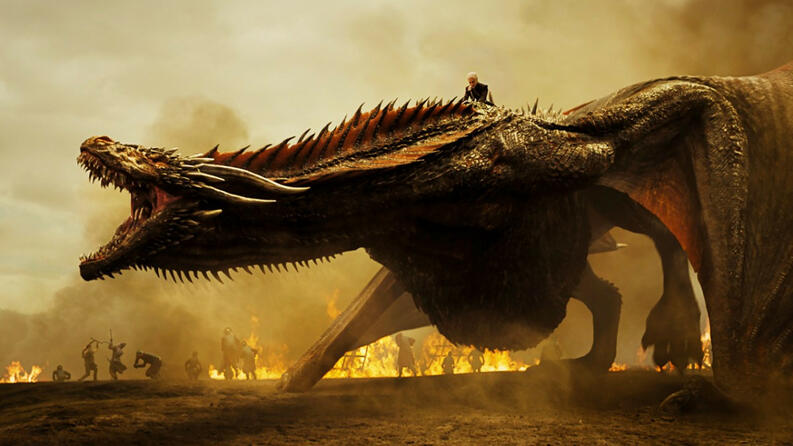 daenerys drogon temporada 7 de game of thrones