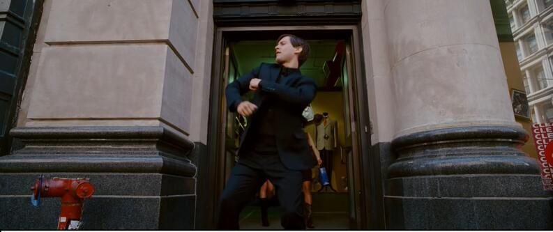 doctor strange cameo peter parker tobey maguire