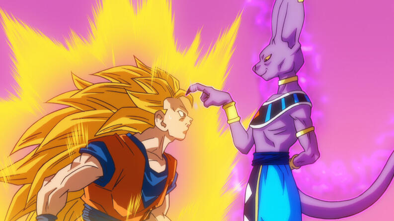 dragon ball super la batalla de los dioses 2