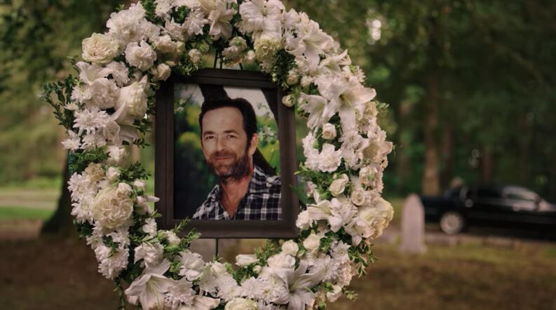 fred andrews funeral riverdale luke perry