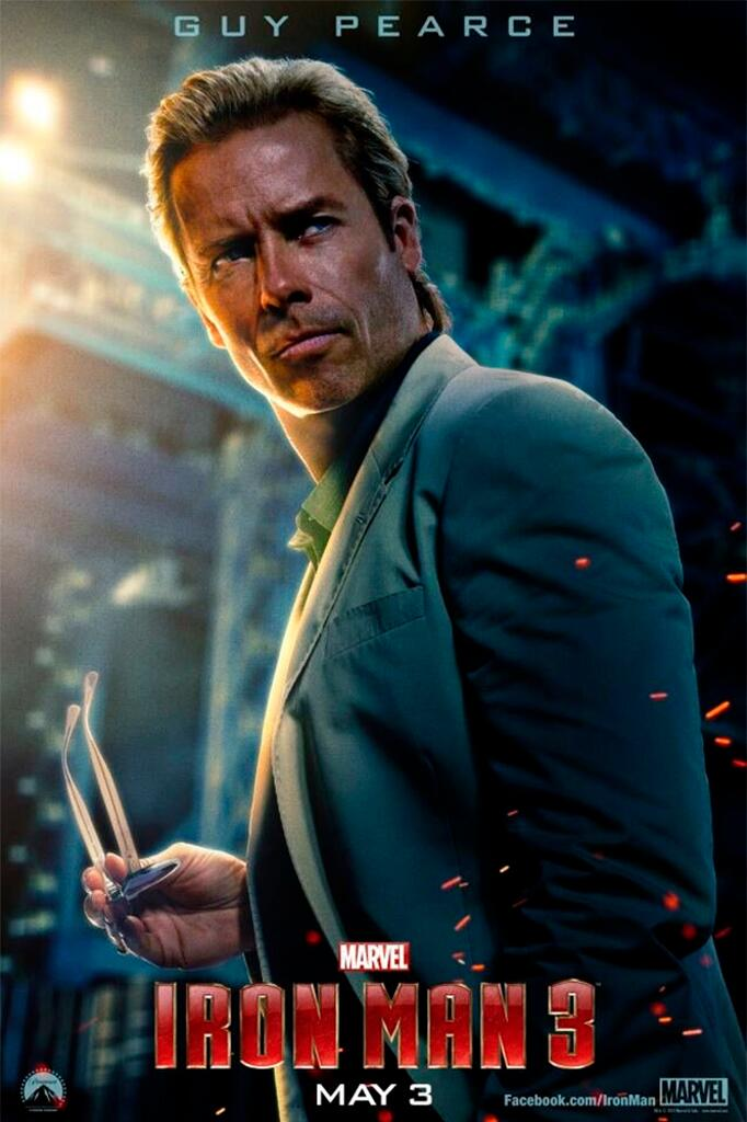 guy pearce ironman3