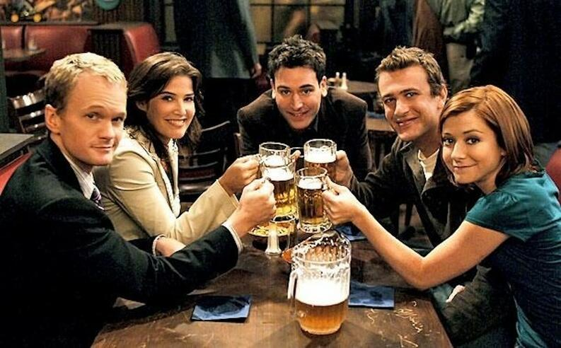 how i met your mother personajes serie