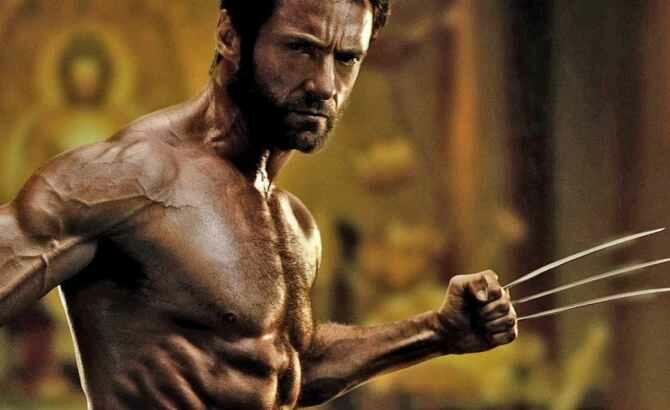 hugh jackman shirtless in the wolverine