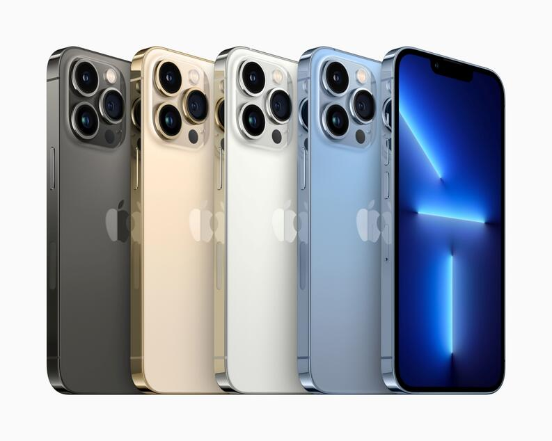 iphone 13 pro colores