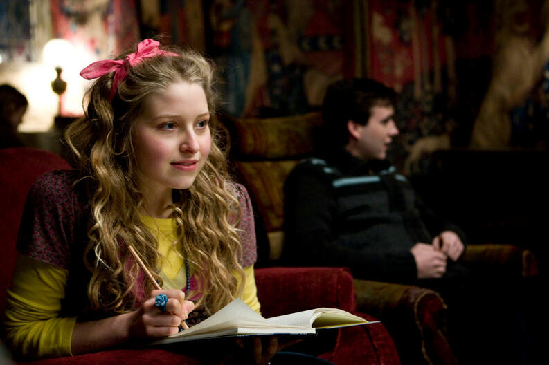 jessie cave in harry potter and the half blood prince 2009
