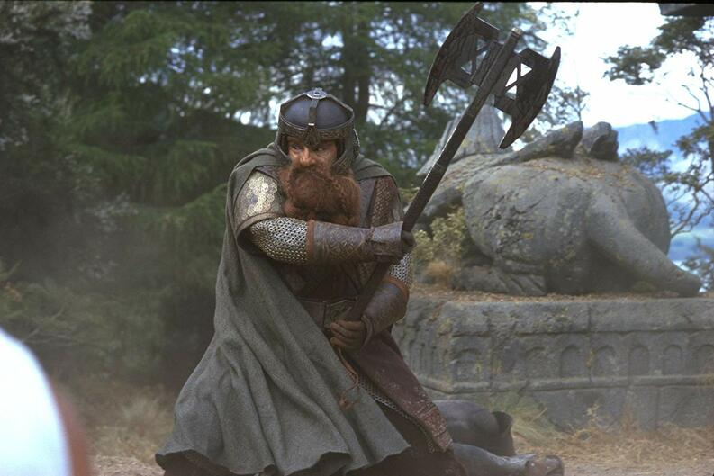 john rhys davies the lord of the rings the fellowship of the ring