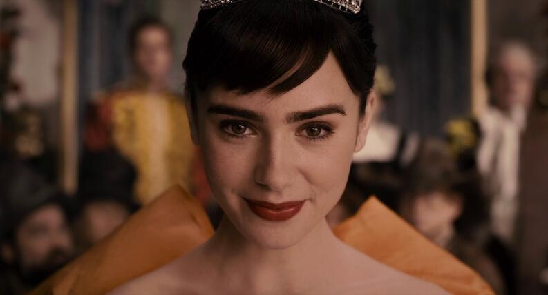 lily collins in mirror mirror 2012