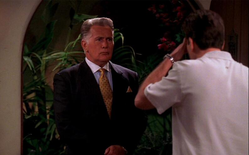 martin sheen two and a half men
