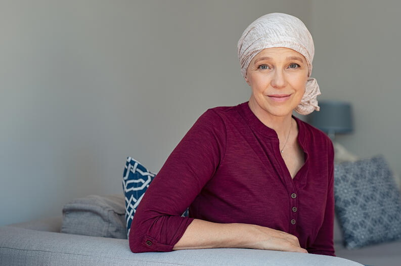mujer con cancer 0