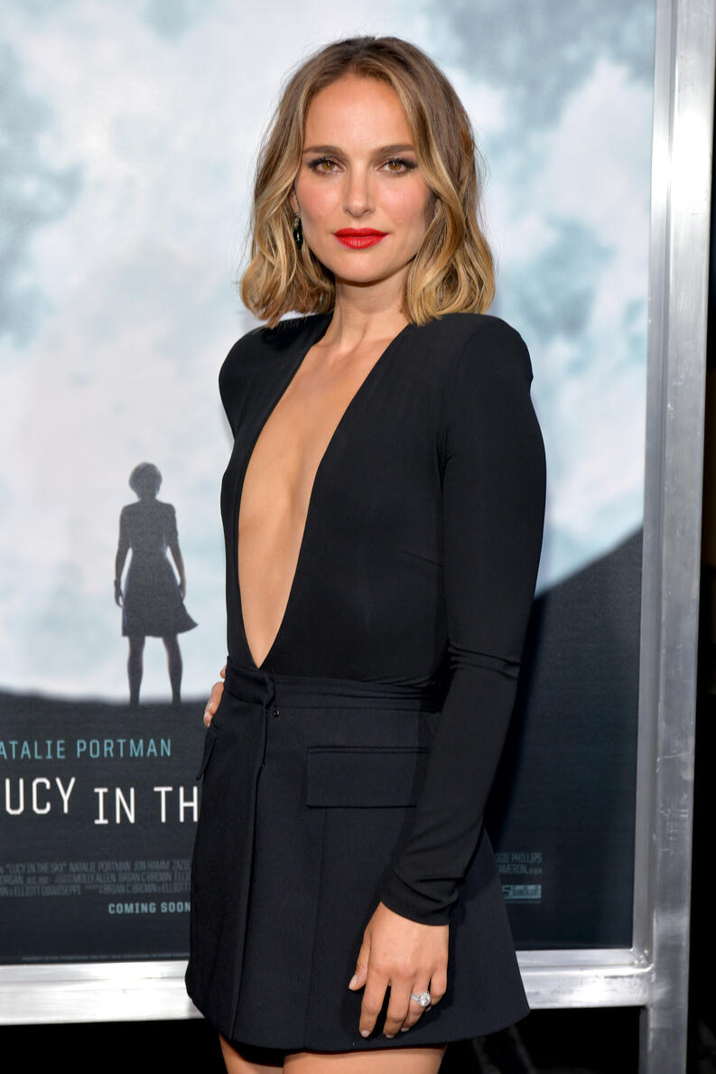 natalie portman lucy in the sky premiere 2019