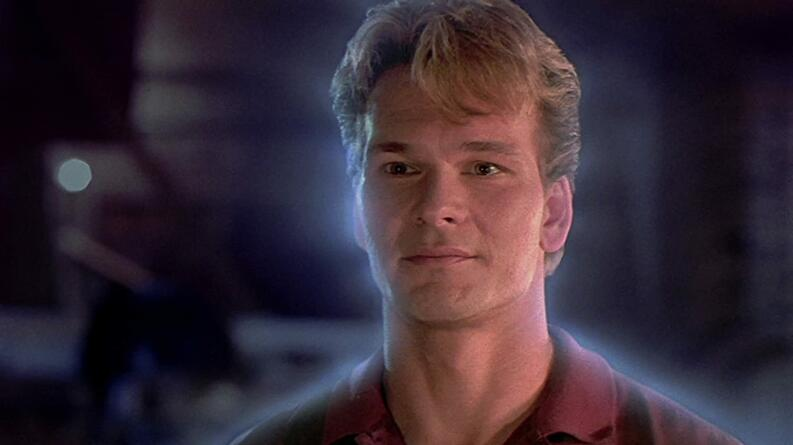 patrick swayze in ghost 1990