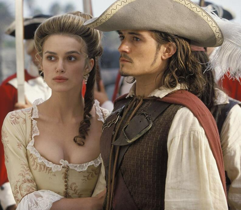 piratas del caribe keira knightley orlando bloom