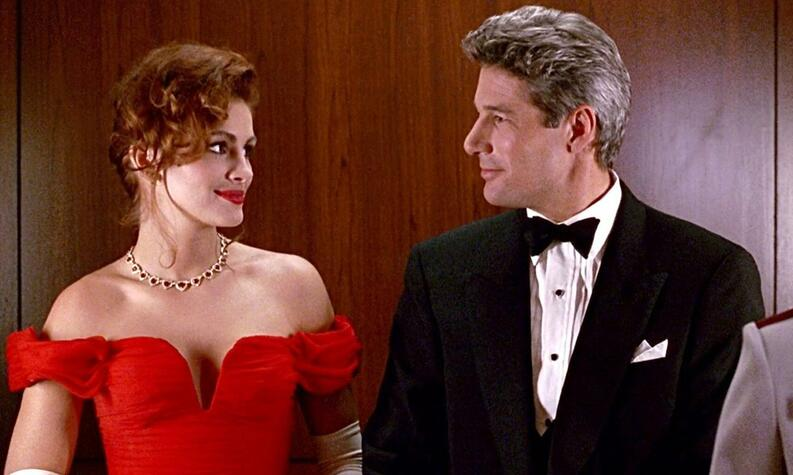pretty woman red dress