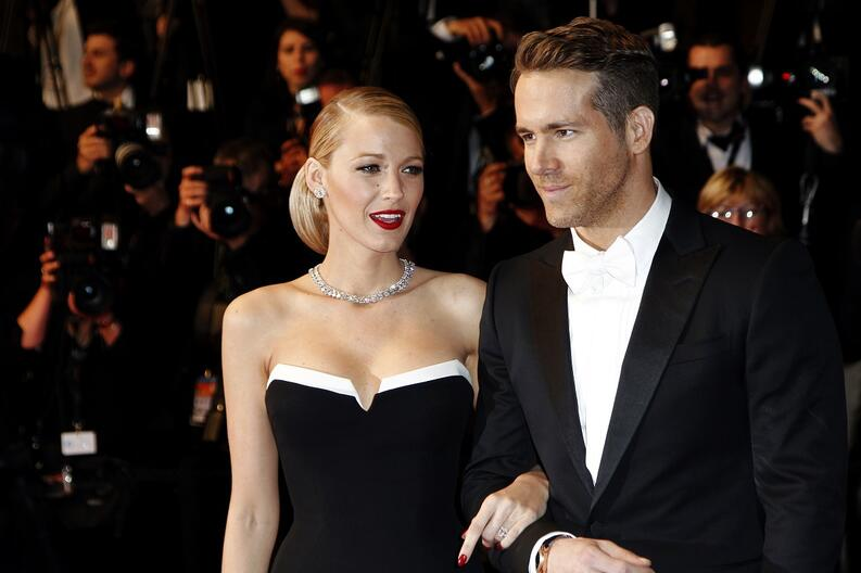 ryan reynolds y blake lively son muy altos