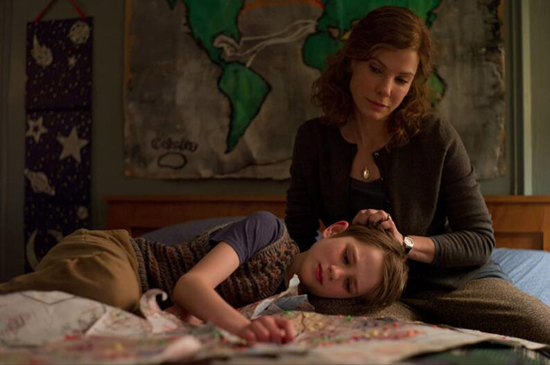 sandra bullock and thomas horn in extremely loud incredibly close 2011