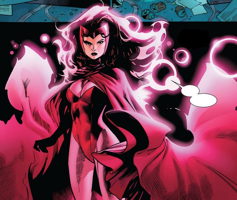 scarlet witch marvel comics 2