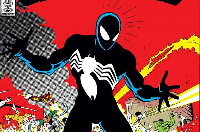 spiderman venom secret wars