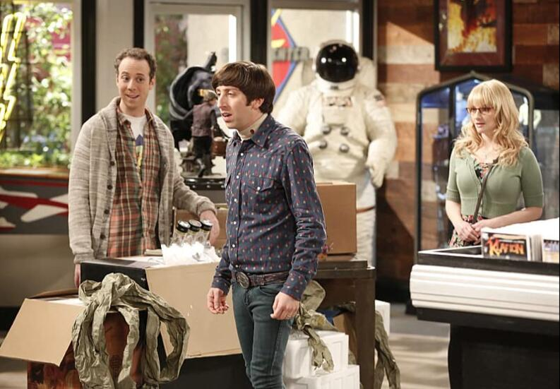 the big bang theory episodio muerte mama howard 1