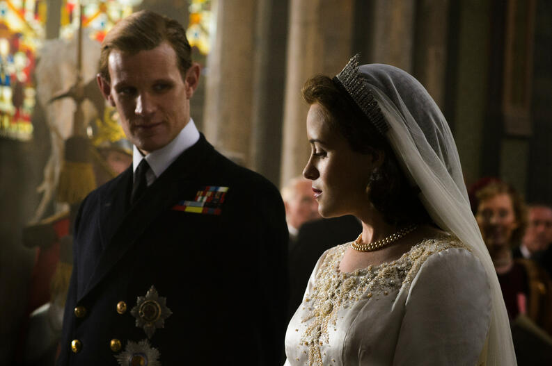 the crown matt smith claire foy