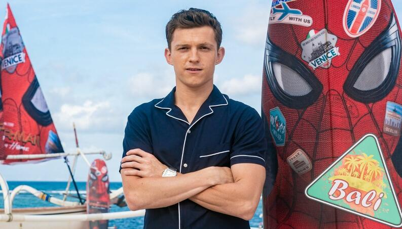 tom holland spider man bali 2019