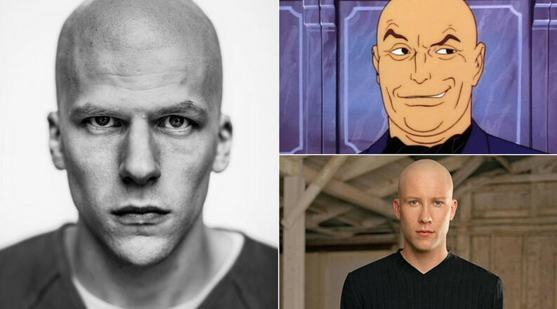versiones de lex luthor