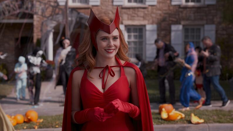 wandavision scarlet witch oficial