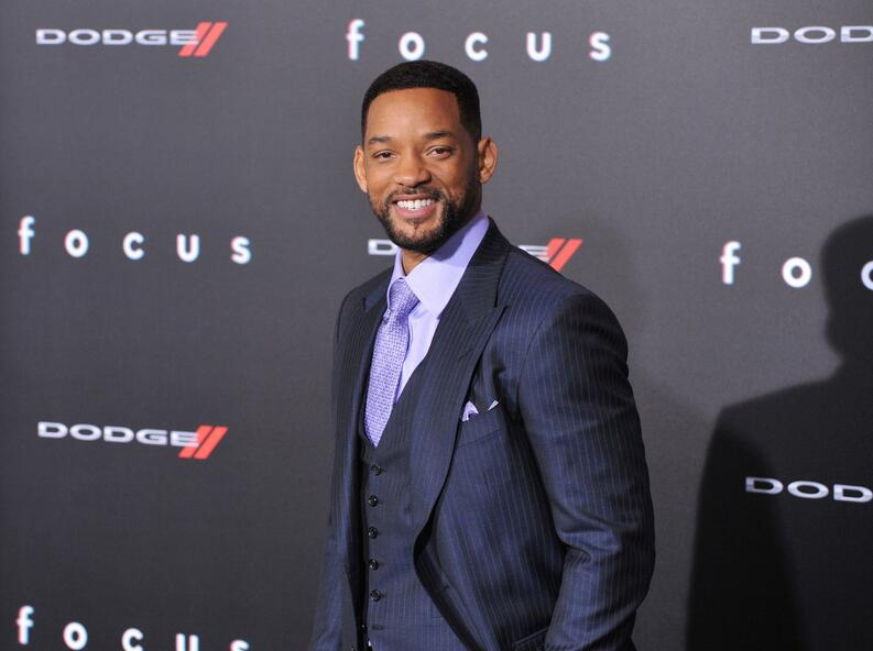 will smith alfombra roja