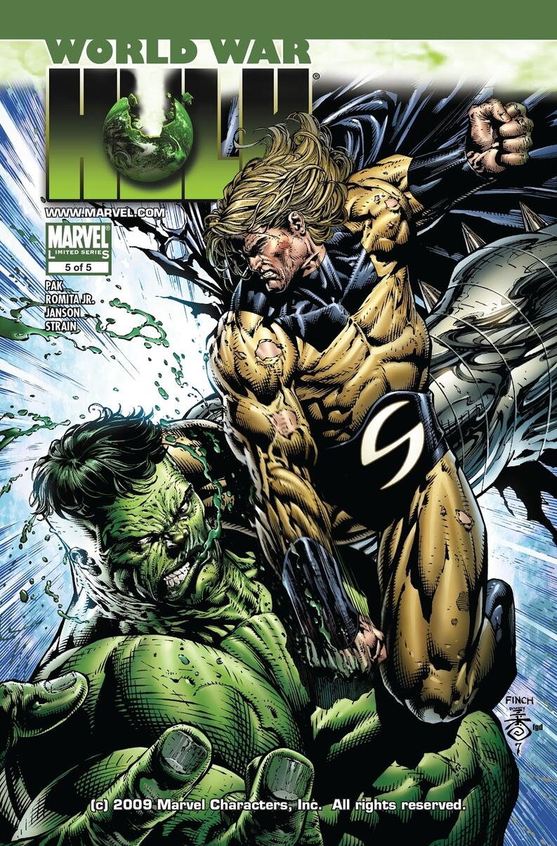world war hulk marvel comics